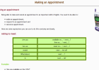 Making an appointment | Recurso educativo 34866