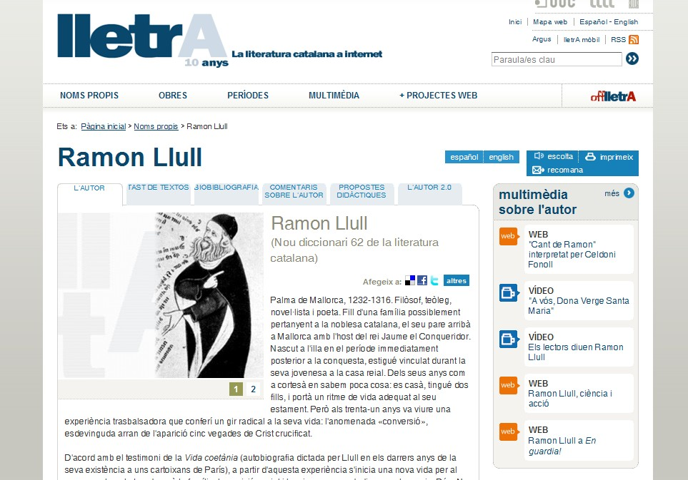 Ramon LLull | Recurso educativo 35353