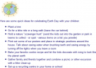 Earth day | Recurso educativo 40037