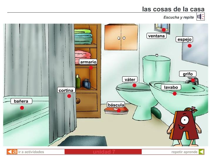 Las Cosas De La Casa Recurso Educativo 40137 Tiching