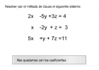 Método de Gauss | Recurso educativo 42786