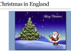 Webquest: Christmas in England | Recurso educativo 42991
