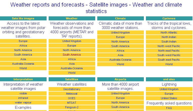 Weather Reports and Forecasts | Recurso educativo 45353