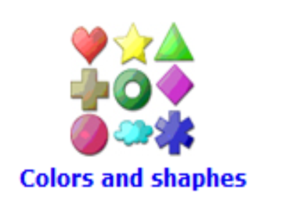 Colours and shapes | Recurso educativo 48194
