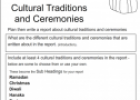 Cultural traditions and ceremonies | Recurso educativo 54545
