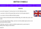 Webquest: British symbols | Recurso educativo 12636