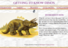 Webquest: Getting to know Dinos | Recurso educativo 12943