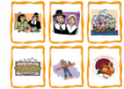 Thanksgiving Flashcards | Recurso educativo 19313