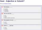 Adjective or Adverb? (quiz) | Recurso educativo 19945