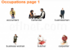 Occupations vocabulary | Recurso educativo 20269