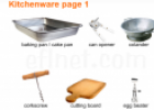 Kitchenware vocabulary | Recurso educativo 20273