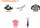 Clothing vocabulary | Recurso educativo 20278