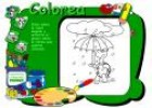 Colorea la lluvia | Recurso educativo 21419
