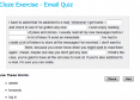 Email Quiz | Recurso educativo 23571
