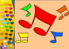 ¡A Colorear!: Notas musicales | Recurso educativo 29244