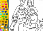 ¡A Colorear!: Familia | Recurso educativo 29625