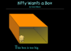 Storybook: Kitty wants a box | Recurso educativo 32924