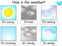 How is the weather? | Recurso educativo 8662
