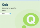 Listening for specifics: Quiz | Recurso educativo 66931