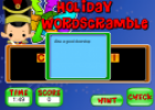 Christmas word scramble game | Recurso educativo 67101