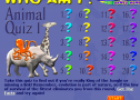 Animal quiz | Recurso educativo 67596