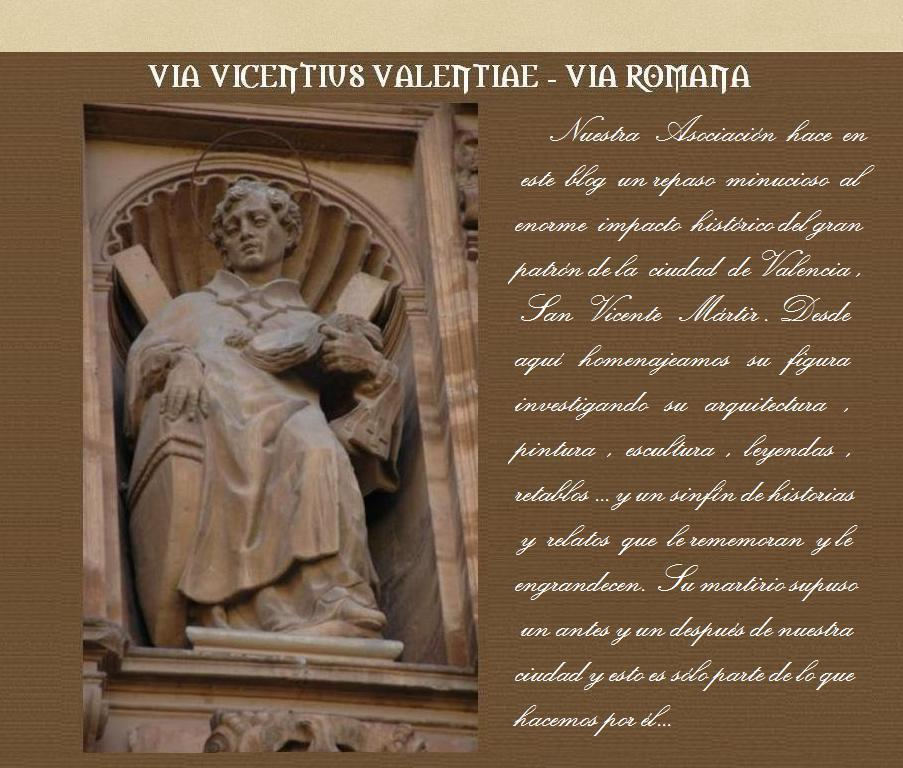 Via Vicentius Valentiae. Via Romana | Recurso educativo 75927