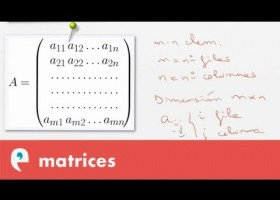 Matrices: introducción | Recurso educativo 109441