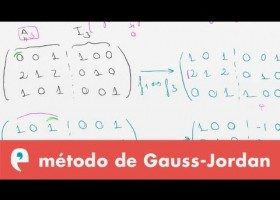 Matrices: método de Gauss - Jordan | Recurso educativo 109457