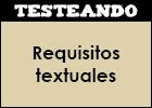 Requisitos textuales | Recurso educativo 46926