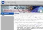 Information Processing Group (del JLP de la NASA) | Recurso educativo 762437