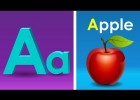 Phonics Song with TWO Words - A For Apple - ABC Alphabet Songs with Sounds | Recurso educativo 763837