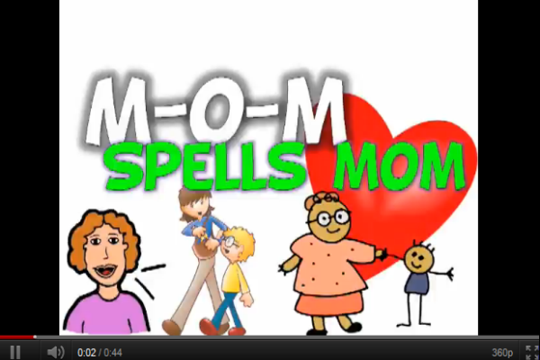 Song: M-O-M spells mom | Recurso educativo 50553