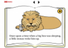 The mouse and the lion | Recurso educativo 18414