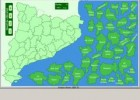 Comarques de Catalunya. Encaix (Puzzle) - Mapas Flash Interactivos | Recurso educativo 90537